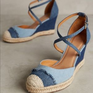 Cute pair of wedges from Anthropologie!